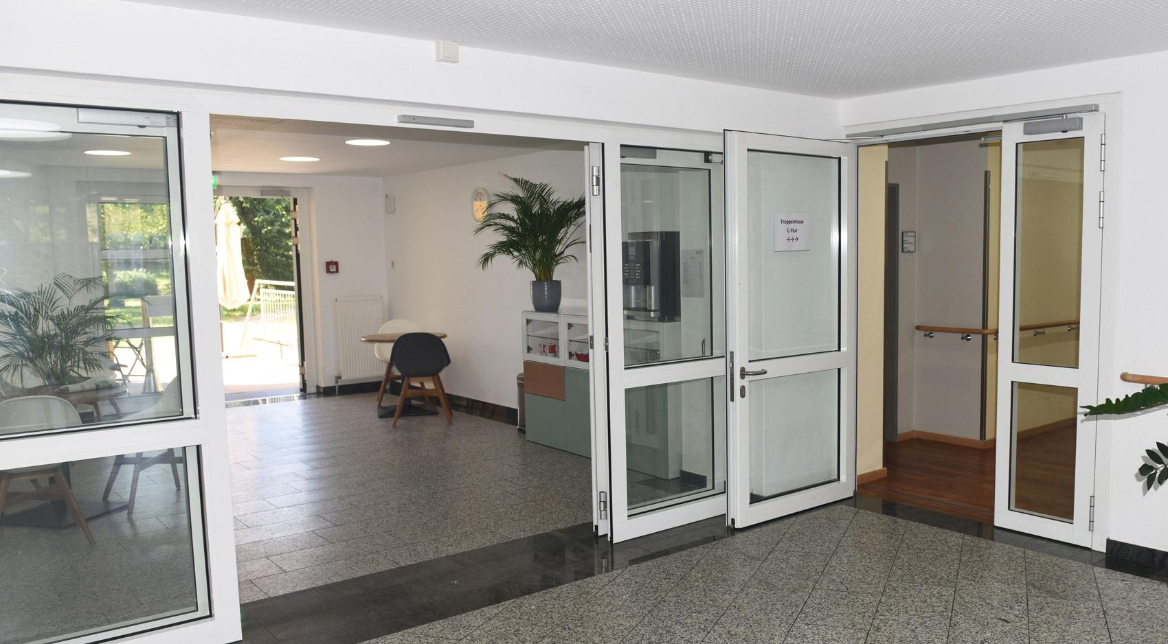 Brandschutztüren DRK Darmstadt Referenz Rompel Metallbau